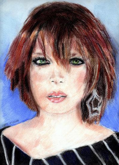 Shirley Manson by cricribattosai